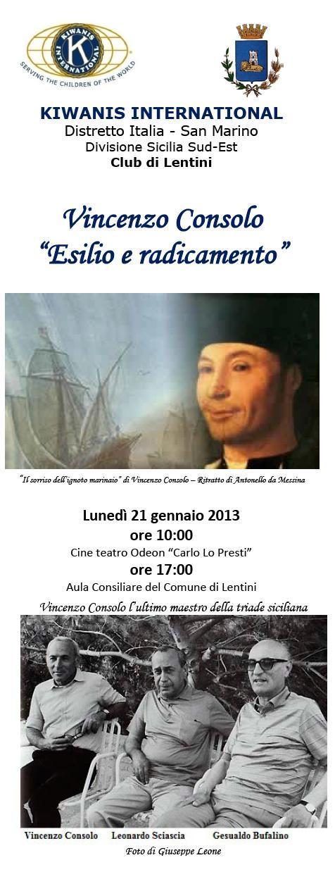 Vincenzo Consolo - Lentini