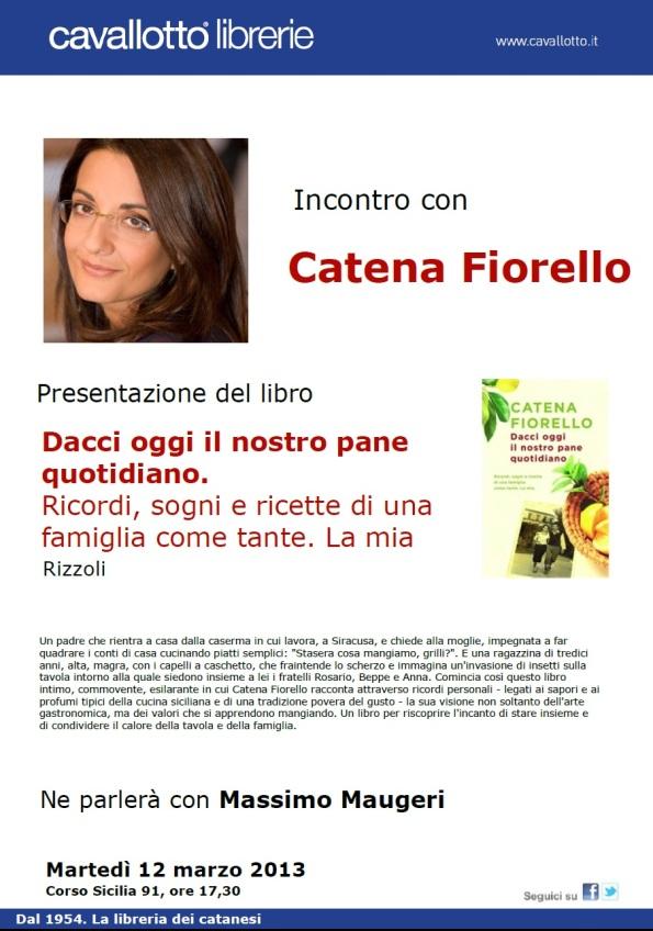 Catena Fiorello - presentazione CT 12.3.2013