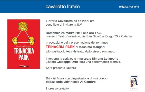 Massimo Maugeri - invito 24.3.13 (Trinacria Park)