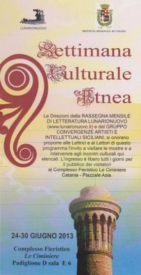 Settimana culturale etnea