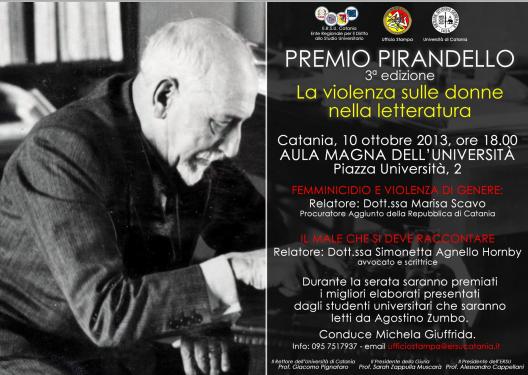 Premio Pirandello 2013