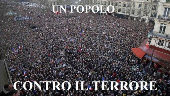 un popolo contro il terrore