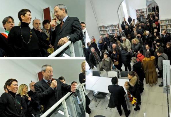 Inaugurazione biblioteca Asti