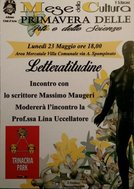 Massimo Maugeri - Adrano 23.5.2016