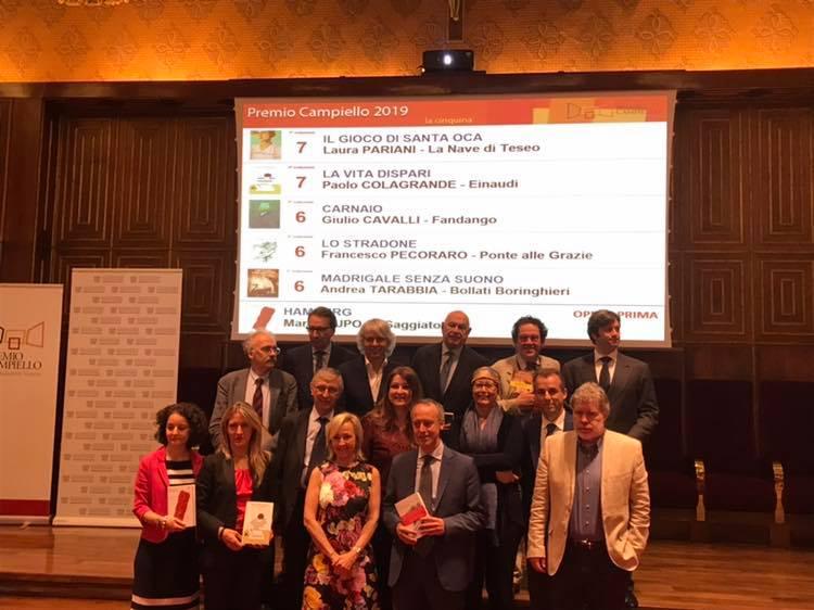 Premio Campiello, il torinese Marco Lupo vince per l'Opera Prima